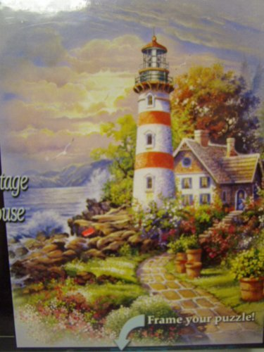 Prism Andres Orpinas Cozy Cottage Lighthouse 500 Pieces