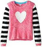 Hartstrings Big Girls' Novelty Yarn Heart Sweater