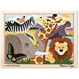 Melissa & Doug African Animals Jigsaw Puzzle (12-Piece)