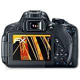 3 x atFoliX Protector de pantalla Canon EOS 700D / Rebel T5i Lámina Lámina protectora - FX-Antireflex anti-reflectante