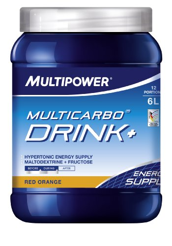 Multipower Multicarbo Drink+ 660g Dose