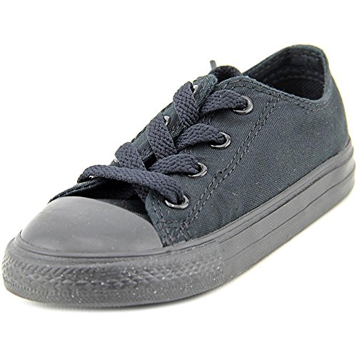 Converse Toddlers Chuck Taylor OX Classic Black Monoch Basketball Shoe 6 Infants US