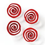 Embellish Your Story Red Swirl Magnets Set Of 4 Embellish Your Story Roeda 17482 Emb