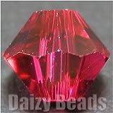 【最高級スワロフスキービーズ】 #5301-5mm Ruby(ルビー) 30ヶ