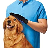 New True Touch Massage True Glove Touch Deshedding Gentle Efficient Pet Grooming Dogs Cats Bath