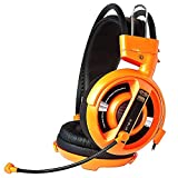E-3lue HS701 Cobra 3.5mm Jack Professional Stereo Gaming Headsets With Microphone - Orange
