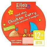 Little Big cocina comida pollo al curry Etapa de Ella 4 200g