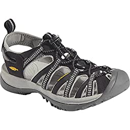 Keen Women's Black/Neutral Grey Whisper Women 8.5 B(M) US