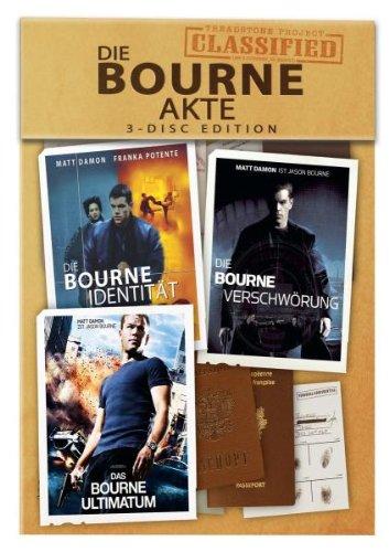 Die Bourne Akte [3 DVDs]