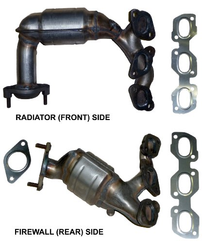 Exhaust Manifold w// Catalytic Converter Front for Escape Tribute Mariner 3.0L V6