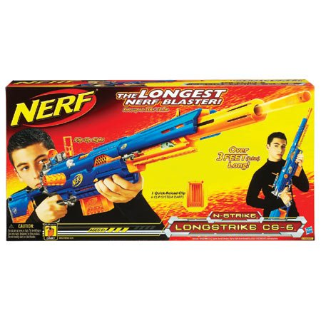 Nerf N-Strike CS-6 Dart Longstrike Sniper Rifle