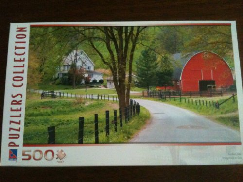 Puzzlers Collection 500 pc Red Barn Ohio