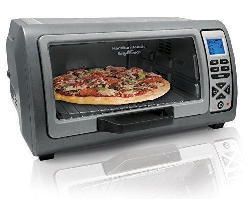 Hamilton Beach 31128 Easy Reach Digital Convection Toaster Oven, Silver (Toaster Oven Convection Digital compare prices)