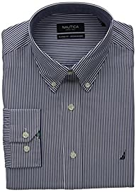 Nautica Men's Engineer Stripe Dress S…