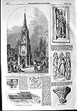 Wellington-Uhr-Turm Southwark-Architektur 1854