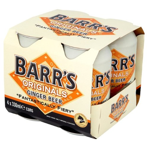 Barr's Originals Ginger Beer 8 x 330ml