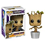 Funko Pop Marvel Dancing Groot Bobble Action Figure, Multi Color