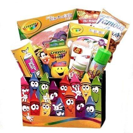 Creative Kids Activity Gift Basket - Valentines Day Gift Idea for Children