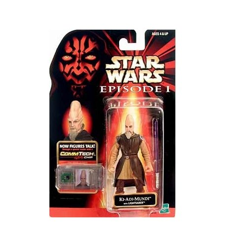 Star Wars Episode I: The Phantom Menace, Ki-Adi Mundi Action Figure, 3.75 Inches