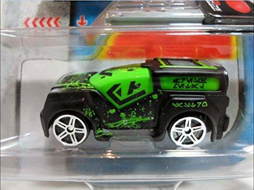 Maisto Diecast Fresh Metal Burnin' Key Cars FM Rover (Black & Green) - 1