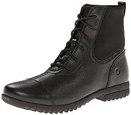 Bogs Women\'s Alexandria Lace Waterproof Leather Boot, Black,5.5 M US