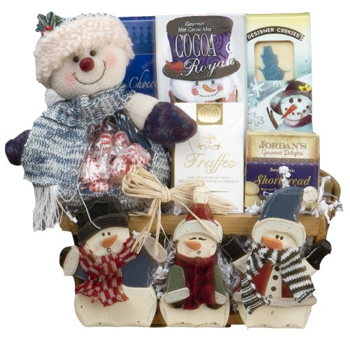 Frosty and Friends! Christmas Holiday Gourmet Food Gift Basket