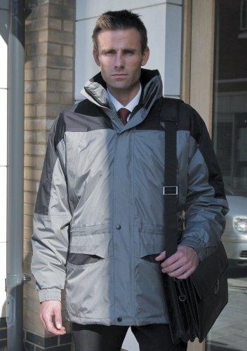 Mens Result Alaska 3 In 1 Jacket XX-Large Grey/Black
