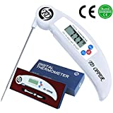 TD OFFER BBQ Meat Thermometer Instant Read,Best Digital Thermometer with Probe for Kitchen Oven Ciiking Food Grill Liquid and Candy-Lifetime Guarantee