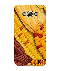 Mental Mind 3D Printed Plastic Back Cover For Samsung Galaxy E7- 3DSAME7-G1467