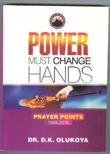 Sale alerts for  Power Must Change Hands: 1995-2010 - Covvet