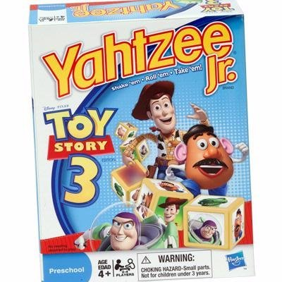 51Ha8BLu8VL Cheap Buy  Hasbro Yahtzee Jr.   Toy Story 3 Game
