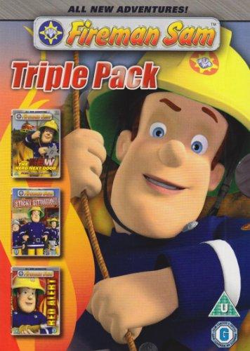 Fireman Sam - CGI Triple Pack (The New Hero Next Door / Red Alert / Sticky Situation) [DVD]