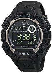 Timex Shock Digital Grey Dial Mens Watch - T49970