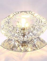5W Energy Saving Modern LED Ceiling Light LED Crystal Ceiling Light Down light bulb Lamp , cool white-110-120v