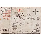 Amazon.com: Map Of Middle Earth The Lord Of The Rings Nice ...