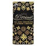 Divine - Chocolate Bar Dark Ginger & Orange - 100g