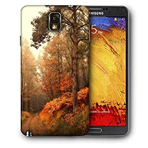 Snoogg Smokey Forest Printed Protective Phone Back Case Cover For Samsung Galaxy NOTE 3 / Note III