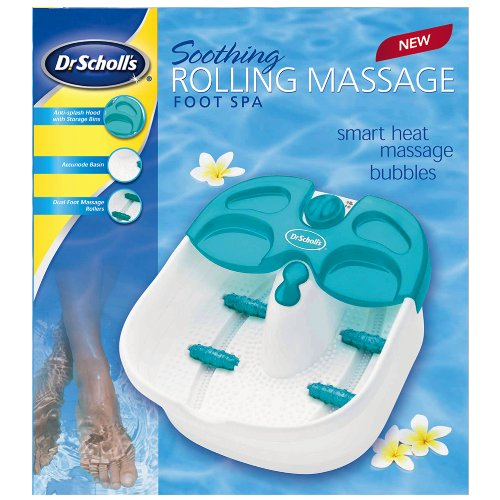 Dr scholls foot spa w/ rolling massage