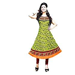 Kaya Women's Cotton Kurti (004KUCO008_Multi-Coloured_X-Large)