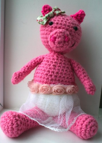 Amigurumi Crochet Patterns | Cliveton the Tiny Pig Amigurumi