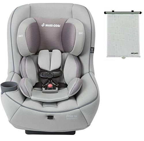 2015-Maxi-Cosi-Pria-70-Convertible-Car-Seat-Grey-Gravel-with-BONUS-Retractable-Window-Sun-Shade