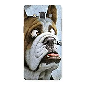 Cute Big Face Dog Back Case Cover for Galaxy Grand 3