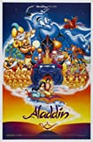 ALADDIN MOVIE POSTER 2 Sided ORIGINAL ROLLED 27×41 DISNEY thumbnail