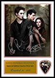 Twilight Cast Signed Photo and Matching Guitar Pick (Autograph & Plectrum Set)