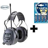 Original 29db PELTOR Optime 5, Digital Radio Gehörschutz Kopfhörer mit MP3 Anschluss