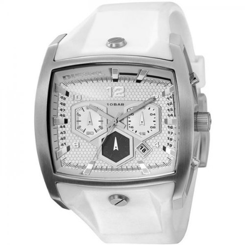 Diesel DZ4163 Unisex Chronograph Silver White Watch