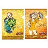 【七つの大罪】A4クリアファイル/2枚セット(ディアンヌ&キング)