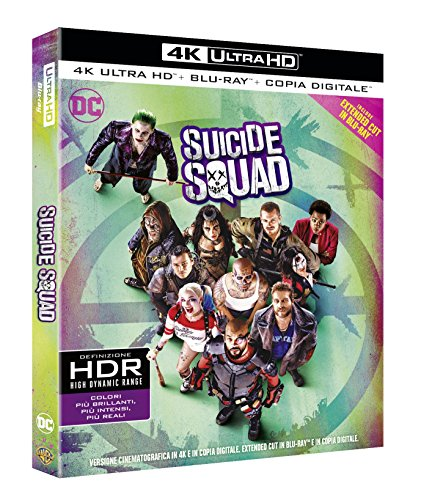Suicide Squad - 4K Ultra HD + Blu-Ray + Digital Copy (Extended Cut) (2Blu-Ray)