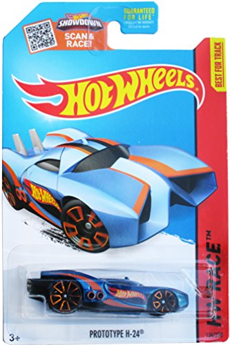 Hot Wheels, 2015 HW Race, Prototype H-24 [Blue] #134/250