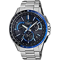 CASIO Men's Watch OCEANUS GPS hybrid Solar radio OCW-G1100-1AJF